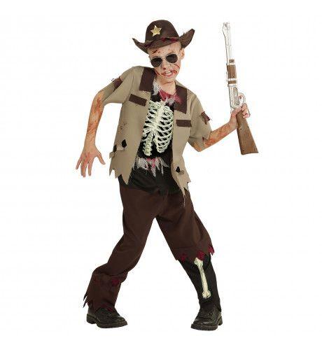 Zombie Sheriff Navajo Jongen Kostuum
