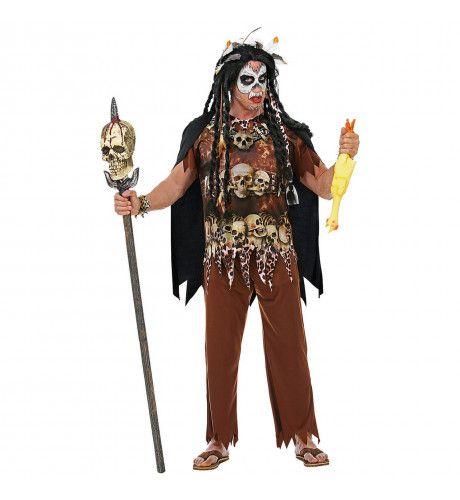 Voodoo Priester Haiti Man Kostuum