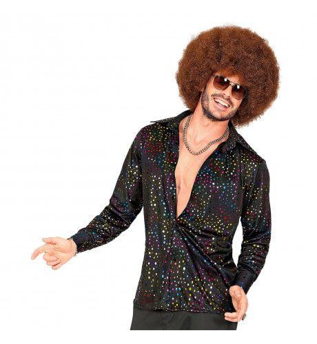 Groovy Style Disco Shirt 70s Man