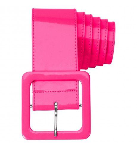 Neon Roze Riem Vinyl