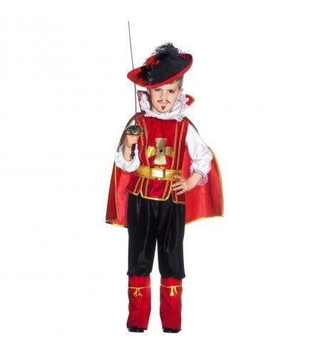 Floris Floret Musketier Van De Koning Jongen Kostuum