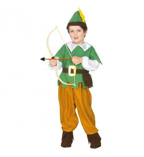 Robin Hood Held Van Het Sherwood Woud Kind Kostuum