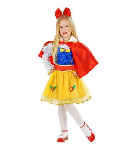 Glitter Prinses Sneeuwwitje Meisje Kostuum