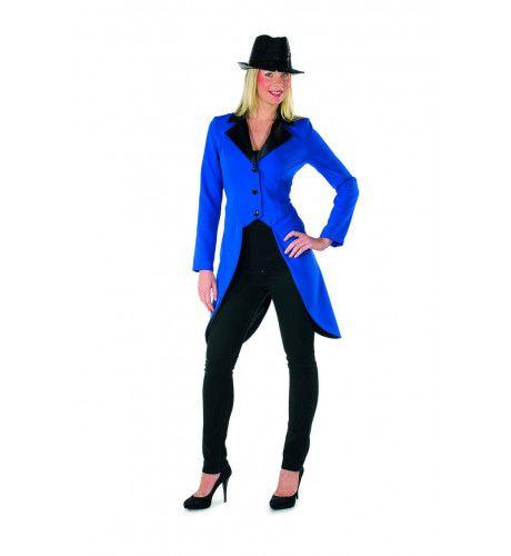 Chique Sarah Circus Slipjas Blauw Vrouw