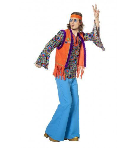 High On Lsd Hippie Oranje Man