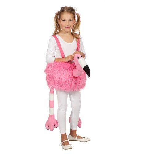 Bungelende Flamingo Hansop Meisje Kostuum