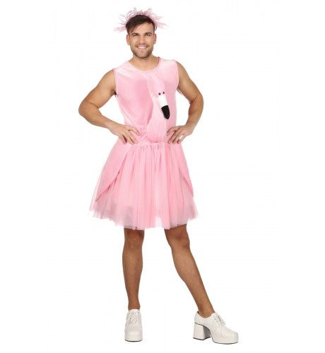 Garnalen Scharrelaar Flamingo Kostuum