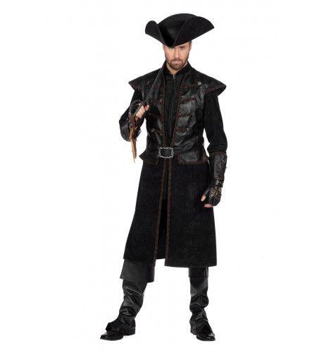 Doodskop Piraat Hank Houwdegen Man Kostuum