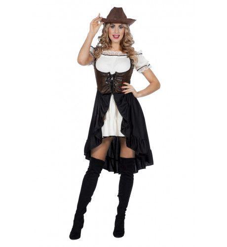 Calamity Colt Cowgirl Arizona Vrouw Kostuum