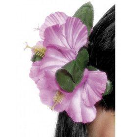 Hawaiiaanse Bloemenclip Roze