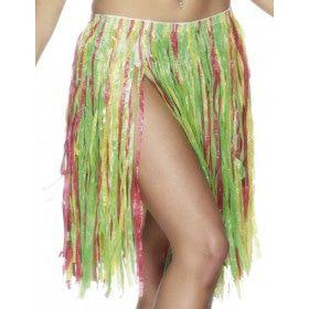 56 Centimeter Hawaiiaanse Kleurige Hula Rok