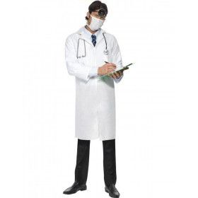 Goedkoop Dokter Laboratoriumjas En Masker Man Kostuum