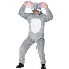 Olifant Volwassen Kostuum