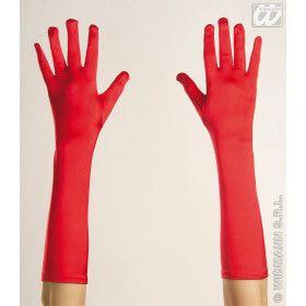 Handschoenen Spandex Lang Rood