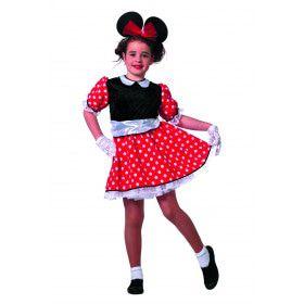Jaren 50 Style Minnie Modern Meisje Kostuum