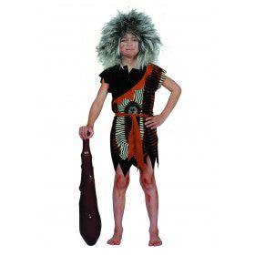 Prehistorisch Oermens Velboa Afrika Kind Jongen Kostuum