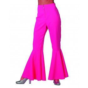 Dancing Pink Hippie Broek Vrouw