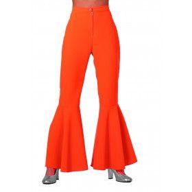 Dancing Orange Hippie Broek Vrouw