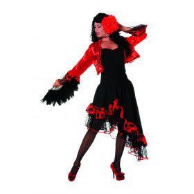 Ole Chica Spaanse Carmen Vrouw Kostuum