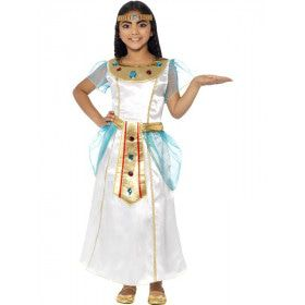 Luxe Cleopatra Meisje Kostuum