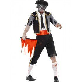 Zombie Toreador Matador Man Kostuum