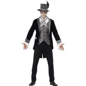 Luxe Dark Hatter Man Kostuum