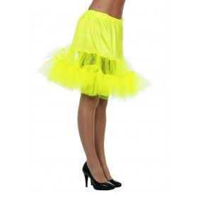 Gele Petticoat (Lang)