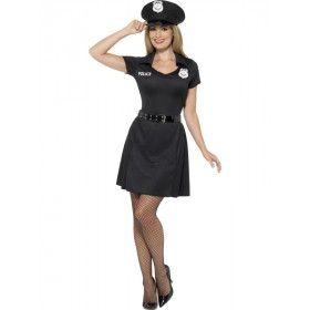 Politieagente Ms Right Vrouw Kostuum
