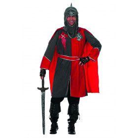 Rawhide Ridder Arthur, Grijs / Rood Man Kostuum