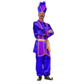 Paarse Hoogheid Sultan, Paars Man Kostuum
