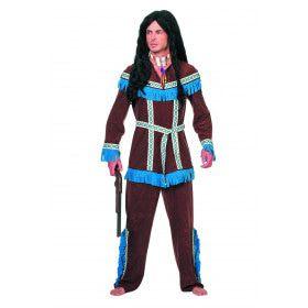 Indiaan Tenderfoot Regendans Man Kostuum