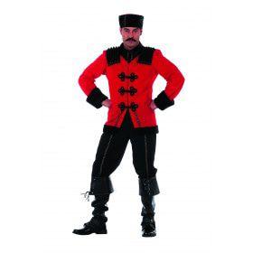 Russische Kozak De Luxe Man Kostuum