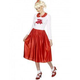 Officieel Grease Seny Vrouw Kostuum
