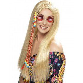 Hippie Blonde Pruik