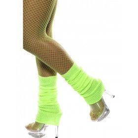 Legwarmers Neon Groen Vrouw