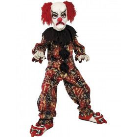 Enge Clown Halloween Kind Kostuum Jongen