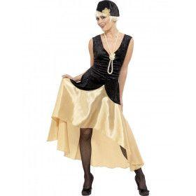 Jaren 20 Gatsby Vrouw Kostuum