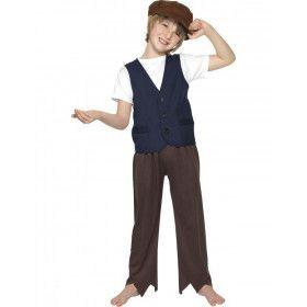 Victoriaans Arme Boer Jongen Kostuum