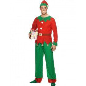 Goedkoop Elf Man Kostuum