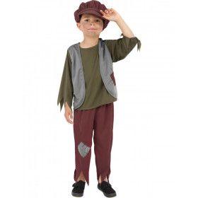 Arme Victoriaanse Jongen Kostuum