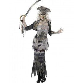 Vrouwelijke Piraat Halloween Vrouw Kostuum
