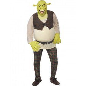 Luxe Shrek Man Kostuum