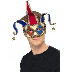 Venetiaanse Muzikale Nar Oogmasker Volwassen