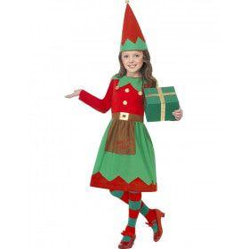 Kind Elf Meisje Kostuum