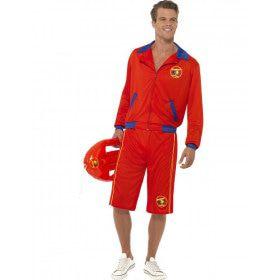 Heren Baywatch Man Kostuum