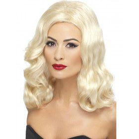 Blonde Pruik 20s