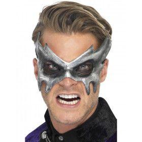 Zilver Masquerade Masker