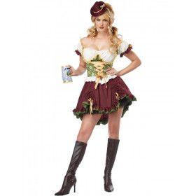Duits Biermeisjes Vrouw Kostuum