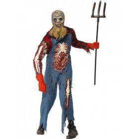 Hillbilly Zombie Man Kostuum