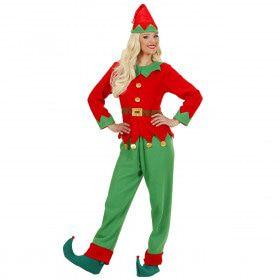 IJverige Elf Vrouw Kostuum